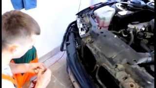 видео Установка ксенона BMW E46