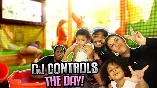CJ CONTROLS OUR LIFE FOR A DAY! *GUESS WHAT WE ATE FOR BREAKFAST*