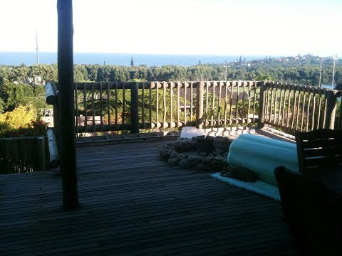 Greeff Construction Cape Town, Pretoria, Botswana WOODEN DECK WITH FIREPIT