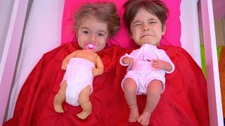 Bogdan si Anabella s au transformat in bebelusi !!