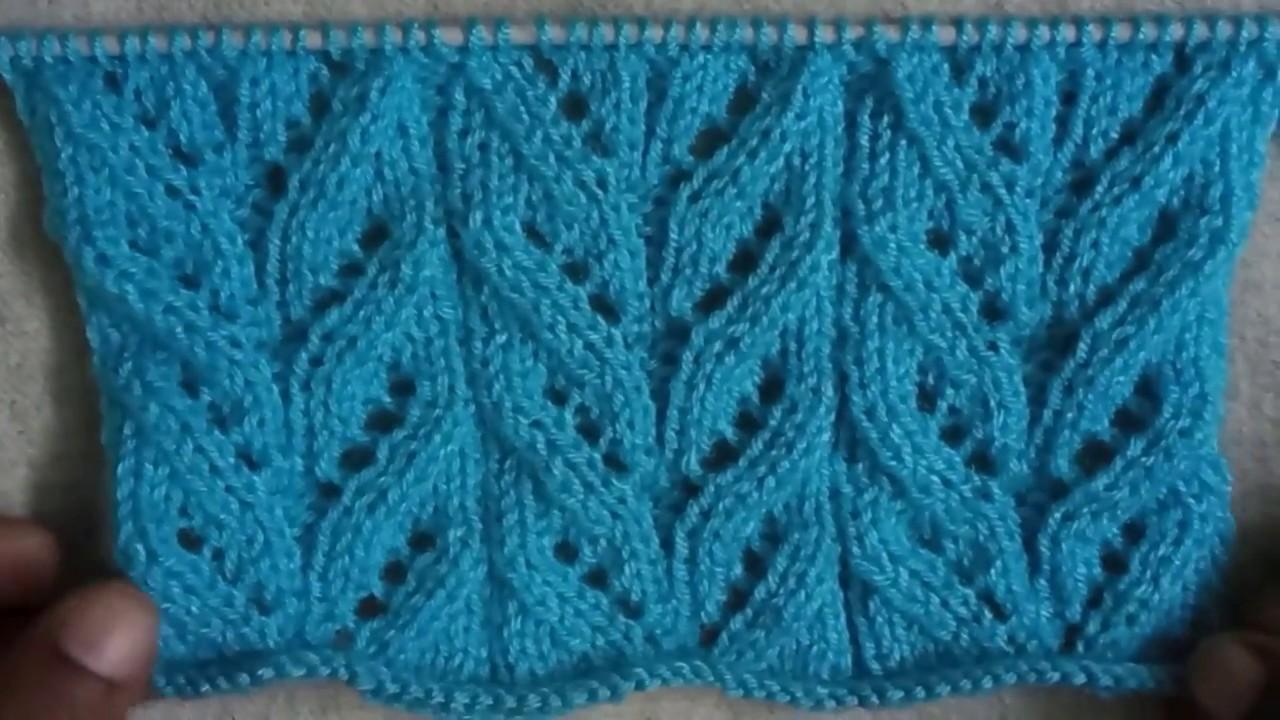 00af4bea2 Easy Single Color Knitting Pattern No.110