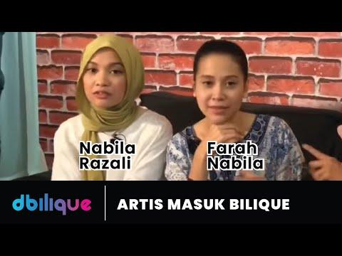 Farah Nabila & Nabila Razali! #ArtisMasukBilik