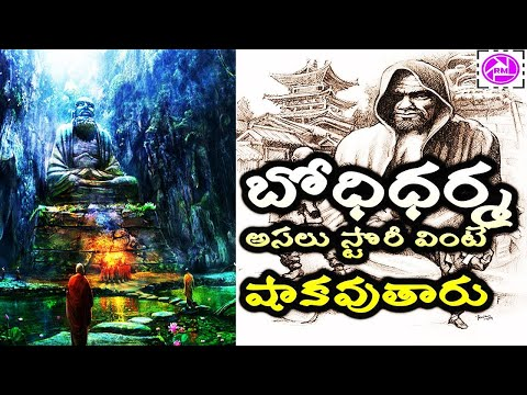 Bodhidharma Mystery Revealed in Telugu || History of Bodhidharma || Real story of founder of kung-fu