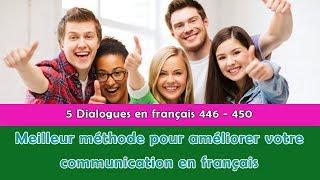 5 dialogues en français (346 - 350)
