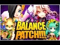 BALANCE PATCH IS HERE!!! (Summoners War)