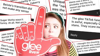 judging more of your VERY unpopular glee opinions!