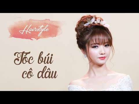Tóc búi siêu đẹp cho cô dâu mùa cưới 2017 | Tóc búi cao trẻ trung | Mai Phan Makeup