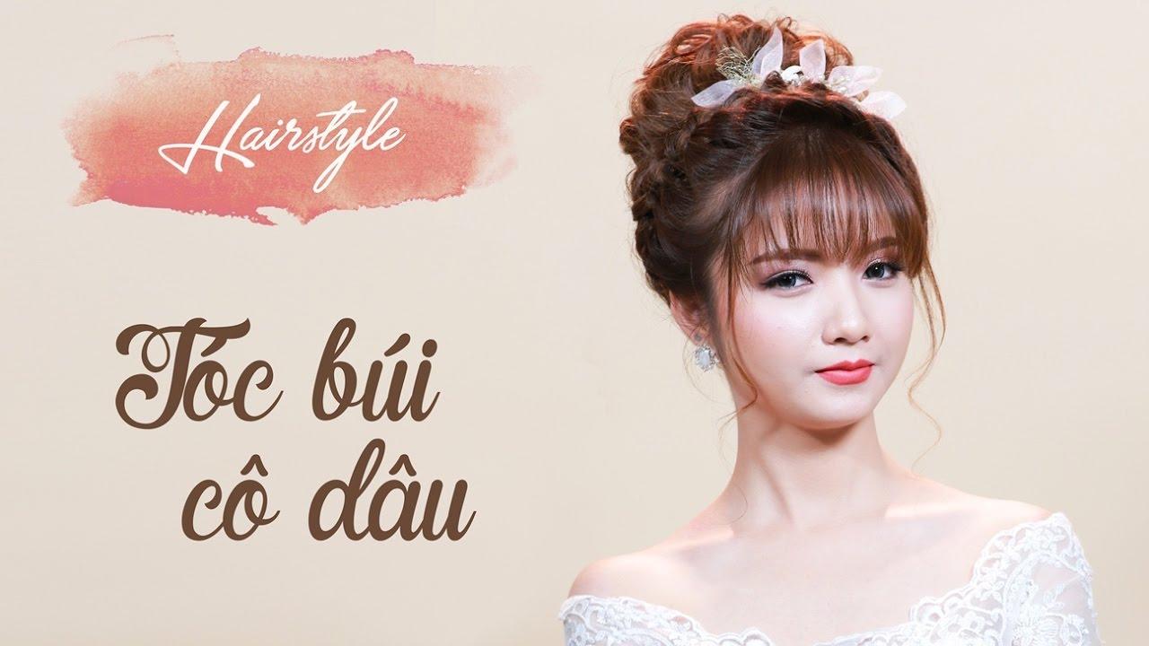 Braided updo hairstyle | Tóc búi siêu đẹp cho cô dâu mùa cưới 2017 | Mai Phan Makeup