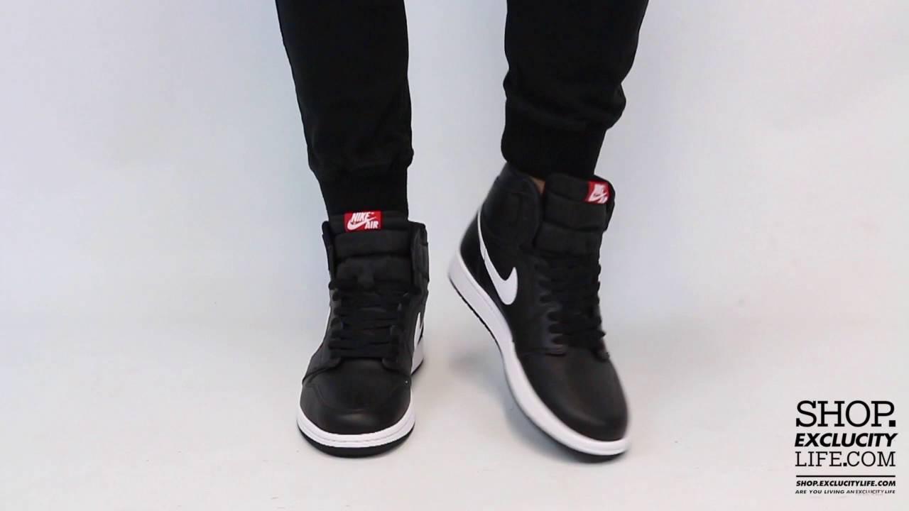 Air Jordan 1 High Retro Black - White