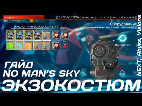 No Man's Sky [ГАЙД] Экзокостюм