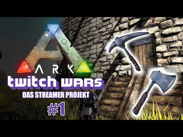 Die PVE Phase 🦖 ARK Twitch Wars #01 [Lets Play Deutsch]