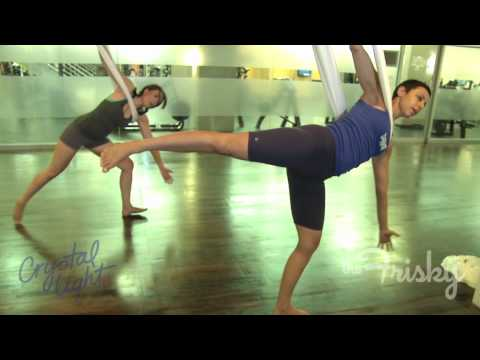 Anti-Gravity Yoga - Fearlessly Fit | TheFrisky.com