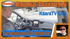 Koeajo live: Uusi 136 hv Renault Zoe Intens