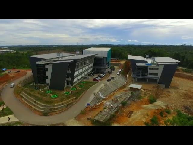 Kampus Institut Teknologi Kalimantan (drone view 2016)