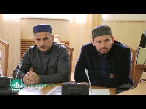 Имам Центральной Джума-мечети г. Махачкалы Мухаммад Саламов принял участие в работе круглого стола