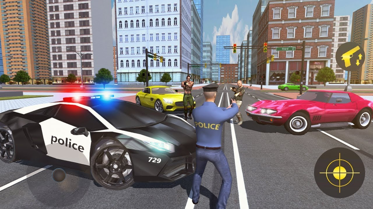 Police Crime City 3d Gang War Simulator Android Gameplay