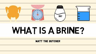 What is a BRINE: Basics & Techniques // Matt the Butcher