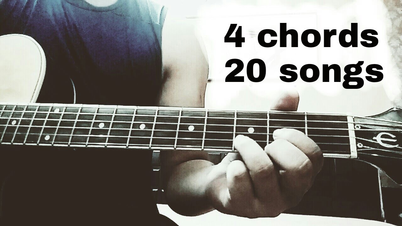 Play 20 Hindibollywood Songs On Guitar Using Just 4 Chords D