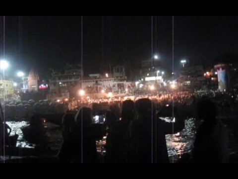 VARANASI (India, Uttar Pradesh) - 1st Part (Evening tour)