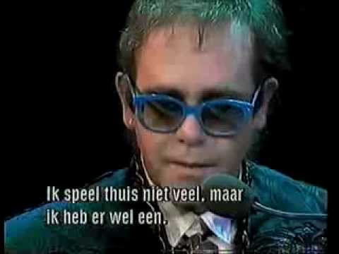 Elton John - Interview on Veronica in February of 1986