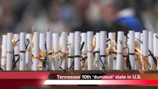 Tennessee ranked 10th dumbest state in America