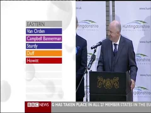 BBC Euro Elections 09