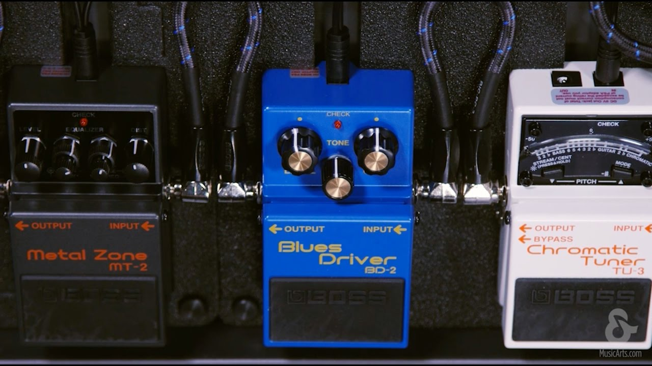 boss bd 2 blues driver guitar pedal [ 1280 x 720 Pixel ]