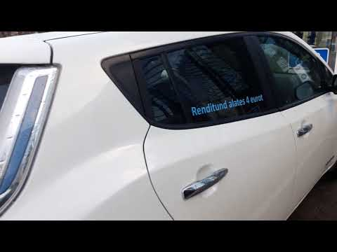 Nissan Leaf car rental Tallinn, Estonia - Elmo Rent