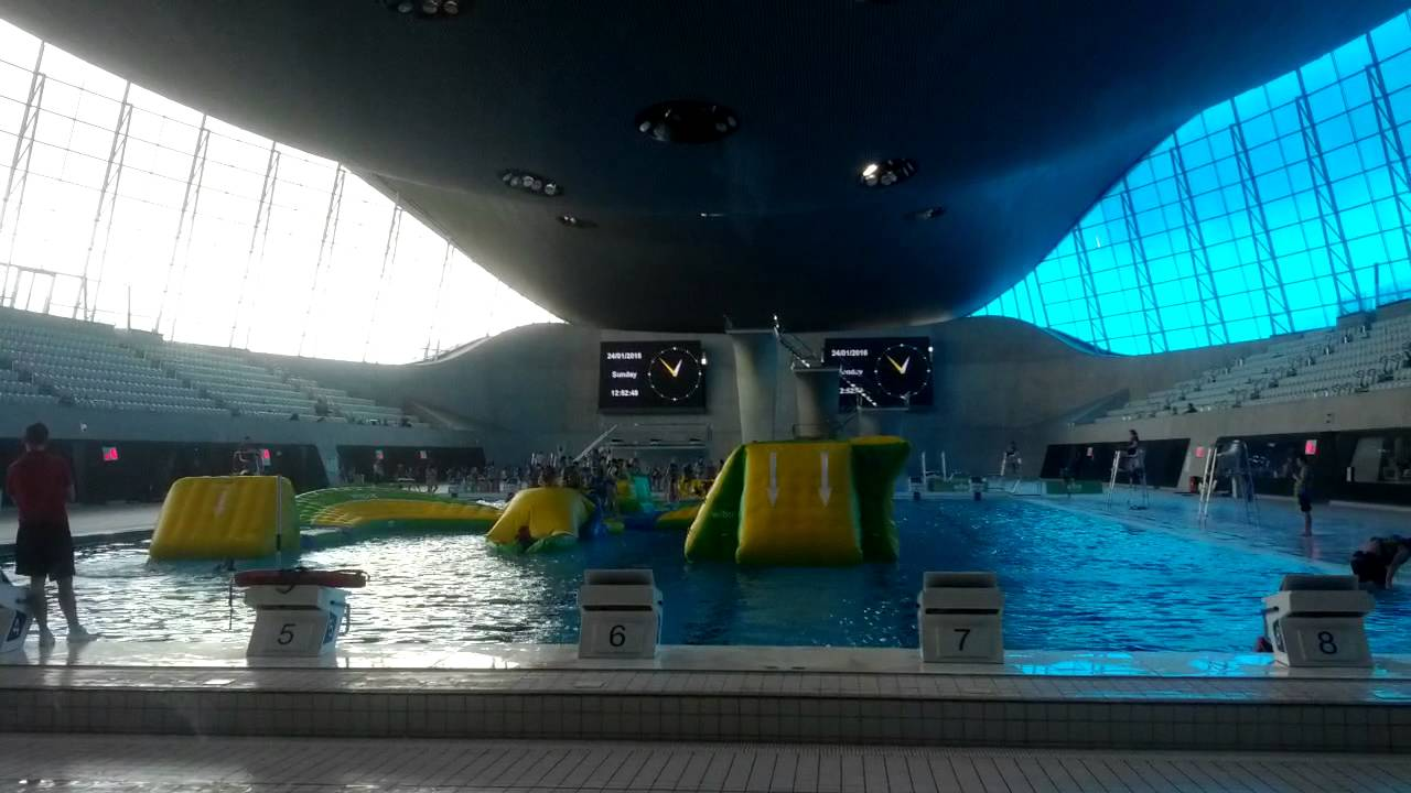 Olympic Swimming Pool   London   TOURIST DESTINATION   YouTube