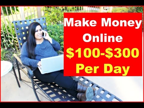 How To Make Money Online 2017 Make $100-$300 Per Day (No Experience Necessary)