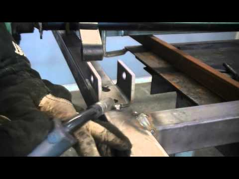 Everlast Trailer Project Build Pt 4: Axle Install