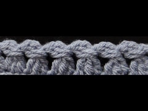 ... to Crochet the Edge / Border Stitch P #8 by ThePatterfamily - YouTube