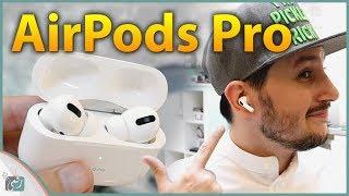 سماعات ابل الجديدة ايربودز برو AirPods Pro | معاينة ومقارنة مع ايربودز 2