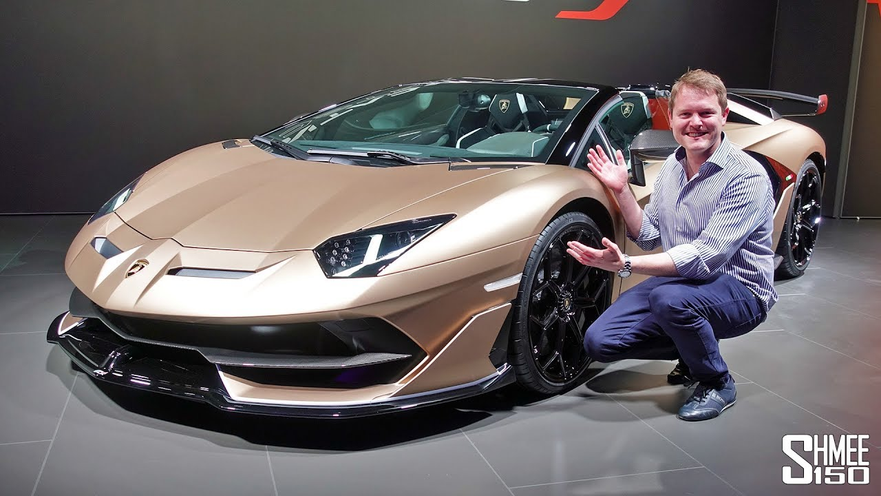 The Lamborghini Aventador Svj Roadster Is Here First Look Youtube
