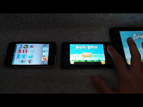 Angry Birds Ipod Vs Angry Birds Android Vs Angry Birds HD