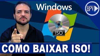 Como BAIXAR Qualquer ISO OFICIAL do Windows - Série Formatação BPV!