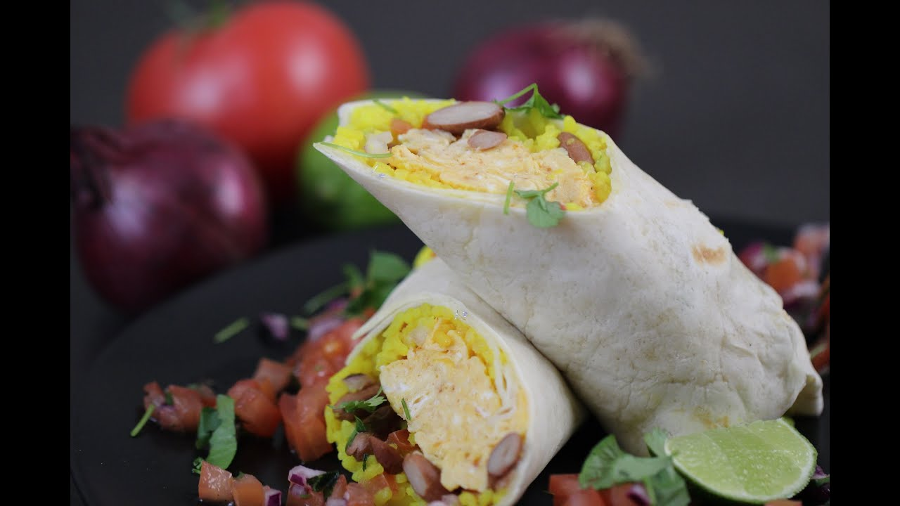 Pyszne Burrito Sniadaniowe Youtube