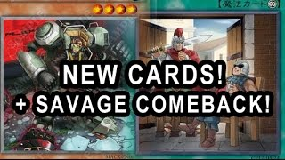 NEW CARDS! NEW FLOODGATE ANTI META + SAVAGE COMEBACK! HEART OF THE CARDS! SACCED!
