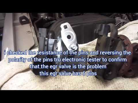 2006 Mercury Mountaineer 4.0V6 Awd P0401 Egr Valve Diagnose And Replacement