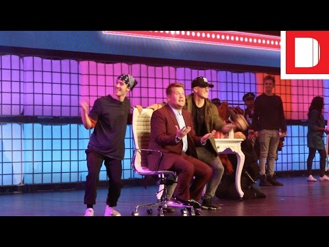 James Corden's All-Singing, All-Dancing Homage To YouTube
