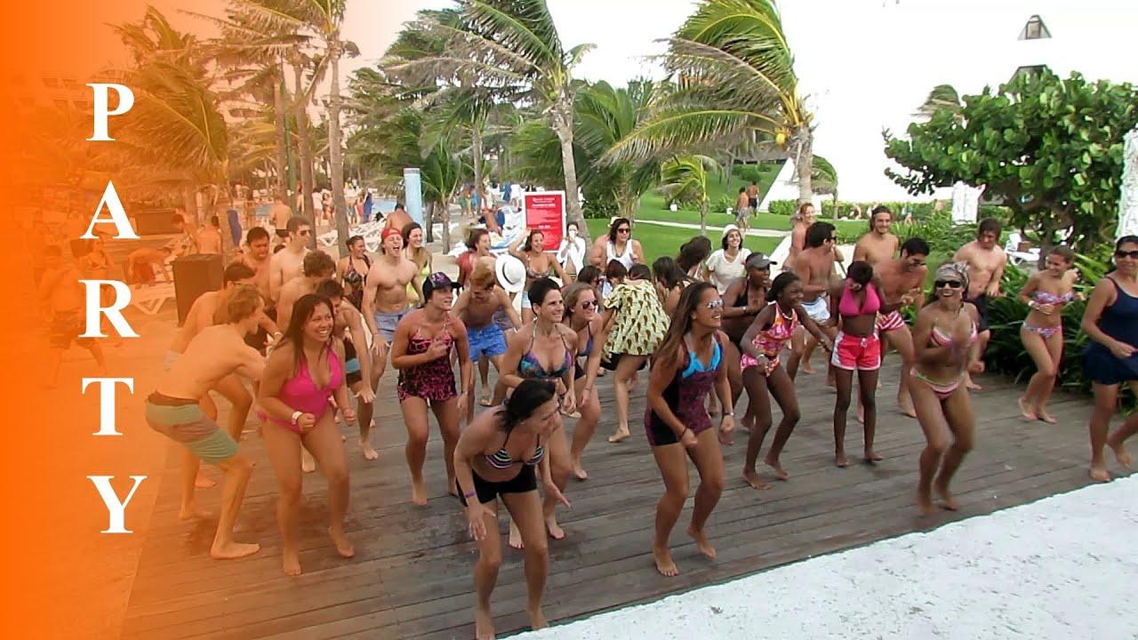 parties Nude cancun beach