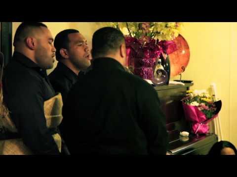 Tongan tribute at a Samoan funeral