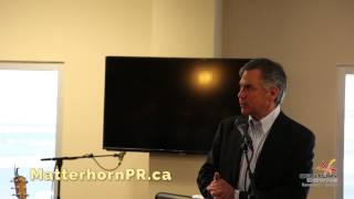 Century Downs Jim Prentice Speech April 25 2015 Calgary Public Relations
