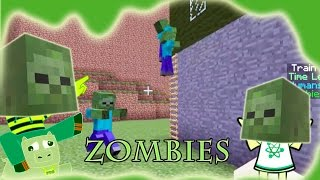 ZOMBIE MANIC - Zombies EVERYWHERE! Mini Game Play with Hannah Carr