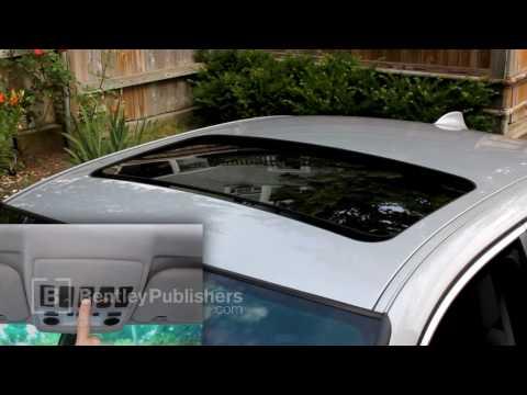BMW 5 Series (E60, E61) 2004-2010 - Sunroof initialization - DIY Repair
