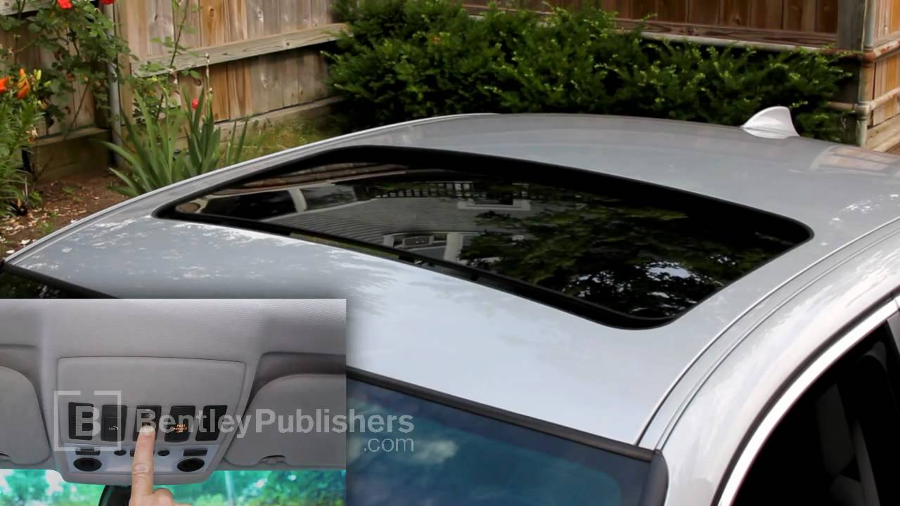 Bmw Sliding Sunroof Anti Trap Function