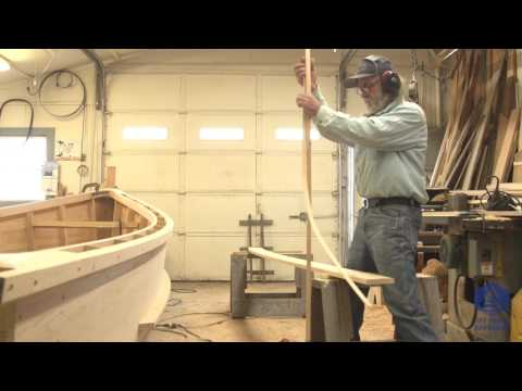 Building the TotalBoat work skiff - The gunwale caps (Episode 30)