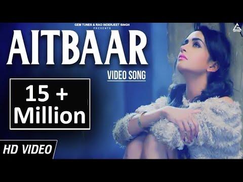 Aitbaar | New Heart Touching Punjabi Song | Vishal Pahwa | MG (Mehul Gadani) | Yellow Music