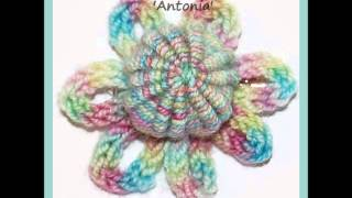 Antonia 17th 18th Century Yorkshire Needlework Button I-cord Corsage 4ply Sock Yarn Knitting Pattern