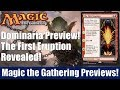 MTG Dominaria Preview: The First Eruption